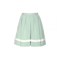 Wood Wood Valerie Terry Appliqued Jersey Skirt Mint Dust