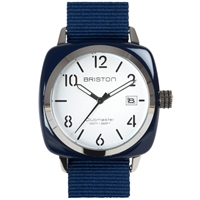 Briston Clubmaster Hms Watch Navy And White