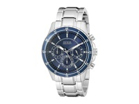 Guess U0676g2 Silver Blue Sport Watches