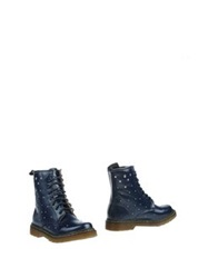 Swish Ankle Boots Dark Blue