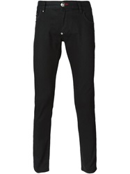 Philipp Plein 'Hurry Up' Skinny Jeans Black