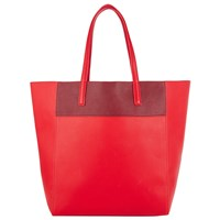 John Lewis Tony Colour Tote Bag Red