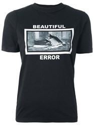 Yang Li 'Beautiful Error' T Shirt Black