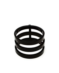 Repossi Chromium Plated 18K Gold Berbere Ring Black