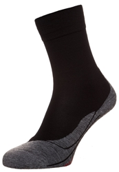 Falke Tk5 Ultra Light Sports Socks Black Grey