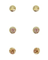 Cara Accessories Stud Earrings Set Of 3 Pairs Compare At 20 Multi