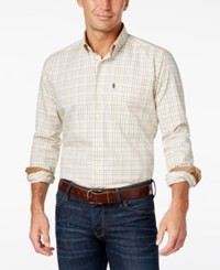 Barbour Men's Charles Tattersall Check Long Sleeve Shirt Lawn