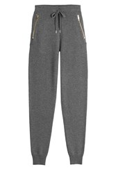 Burberry Brit Cashmere Blend Sweatpants Grey