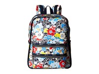 Le Sport Sac Functional Backpack Ocean Blooms Navy Backpack Bags Multi