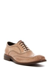 Kenneth Cole Roll The Dice Wingtip Loafer Beige