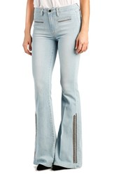 Women's Paige Denim 'Bell Canyon Vintage' High Rise Embroidered Flare Jeans Braylee