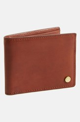Rag And Bone Men's Rag And Bone 'Hampshire Billford' Leather Bifold Wallet Brown