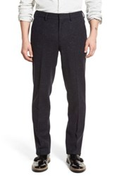 Bonobos Slim Fit Wool Trousers Blue