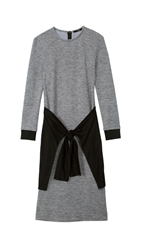 Tibi Chadwick Knit Long Sleeve Dress