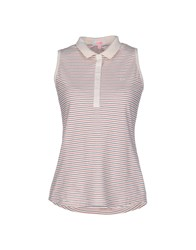 Sun 68 Topwear Polo Shirts Women Ivory