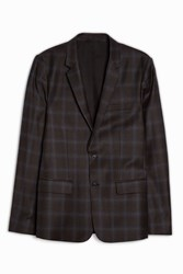 Paul And Joe Tartan Blazer Black
