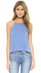 Milly Trapeze Tank Steel Blue