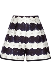 Mother Of Pearl Addison Floral Print Cotton And Silk Blend Shorts