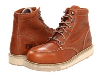 Timberland Barstow Wedge Soft Toe Rust Men's Work Boots Red