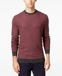 Club Room Men's Big And Tall Classic Fit Sweater Only At Macy's Ebony Heather