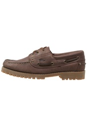 Lumberjack Barker Boat Shoes Brown