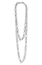 Women's Lagos 'Link' Caviar Chain Necklace