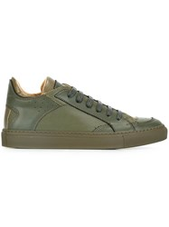 Maison Martin Margiela Mm6 Lace Up Sneakers Green