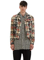 Aganovich Multicolour Tweed Jacket Black