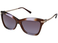 Michael Kors 0Mk2027 Brown Purple Gradient Fashion Sunglasses