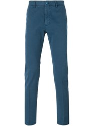 Etro Chino Trousers Blue