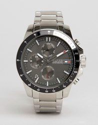 Tommy Hilfiger 1791165 Jace Chronograph Bracelet Watch In Silver Silver