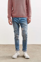 Barney Cools B. Cause Patchwork Slim Jean Vintage Denim Light