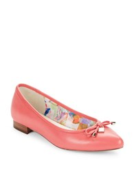 Anne Klein Ovi Pointed Toe Flats Pink