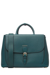 Burberry Shoes And Accessories Leather Tote Green