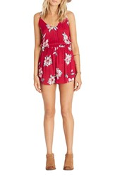 Billabong Women's Sunday Morning Print Romper