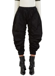 J.W.Anderson Ruched Cropped Jodhpur Pants Black
