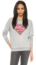 Eleven Paris Superwoman Sweatshirt Dark Grey