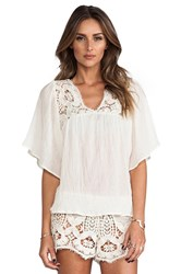 Eberjey Annabelle Top Ivory