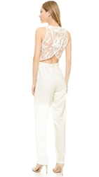 Line And Dot Grace Jumpsuit White