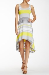Marc New York Hi Lo Motivate Dress Yellow