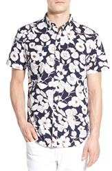 Men's Bonobos 'Moonlight Floral' Slim Fit Short Sleeve Sport Shirt