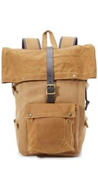 Filson Roll Top Backpack Tan
