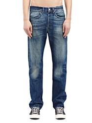 New Season Levi's Vintage Mens Straight Fit 1947 501 Horizon Raw Washed Selvedge Denim Jeans