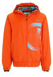 Chiemsee Orest Snowboard Jacket Grenadine Red
