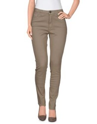Novemb3r Denim Pants Beige