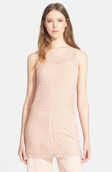 Theory 'Natialee' Knit Tunic Rusty Pink