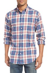 Vineyard Vines Men's 'Dorchester Tucker' Slim Fit Plaid Sport Shirt