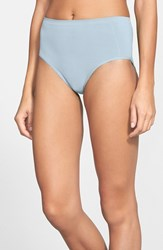 Nordstrom Women's Lingerie Seamless Full Briefs Blue Cashmere