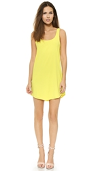 Blaque Label Tank Dress Yellow