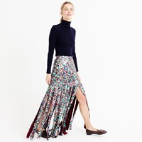 J.Crew Pre Order Collection Sequin Maxi Skirt